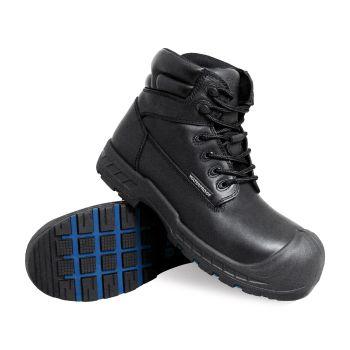 S Fellas by Genuine Grip Mens 6000 Vulcan Comp Toe Puncture Resistant Work Boot - Black