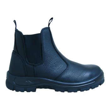 S Fellas by Genuine Grip Mens #6040 Hercules Comp Toe Twin-Gore Work Boot - Black-GG_SFellas