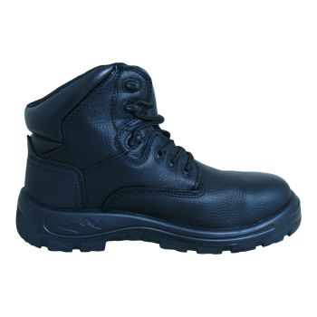 "S Fellas by Genuine Grip Mens #6060 Poseidon Waterproof Soft Toe 6"" Hiker Work Boot - Black-"