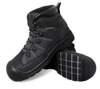Men 6200 Trekker Composite Toe Puncture Resistant Black-S Fellas by Genuine Grip