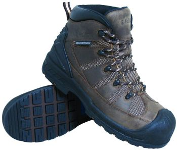 S Fellas by Genuine Grip Mens 6300 Trekker Comp Toe Puncture Resistant Work Boot