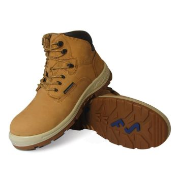 "S Fellas by Genuine Grip Womens #652 Poseidon Comp Toe Waterproof 6"" Work Boot - Wheat Wide Width Avail-GG_SFellas"