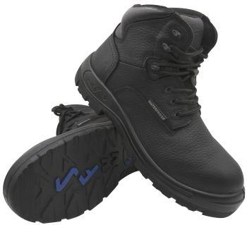 """S Fellas by Genuine Grip Womens #660 Black Poseidon Waterproof 6"""" Hiker Work Boots-S Fellas by Genuine Grip"""