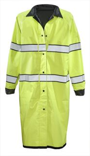 Pro Dry Reversible Rain Coat - ANSI 107 Class III-Gerber Outerwear