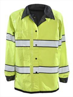 Pro Dry Reversible Rain Jacket - ANSI 107 Class III-