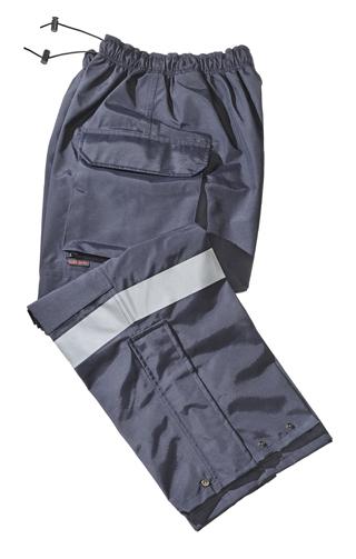 911 Pant NFPA 1999 Cargo Pkt, Zipper, (Silver Trim)-