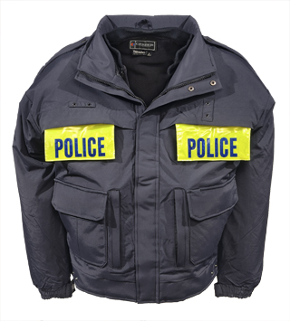 Enforcer Jacket w/ Pull Down Panels - Blank-