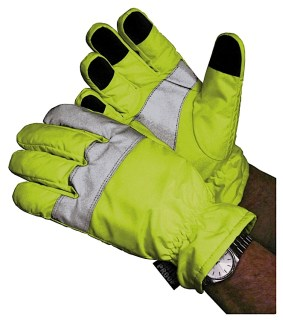 Hi-Vis Traffic Control Gloves