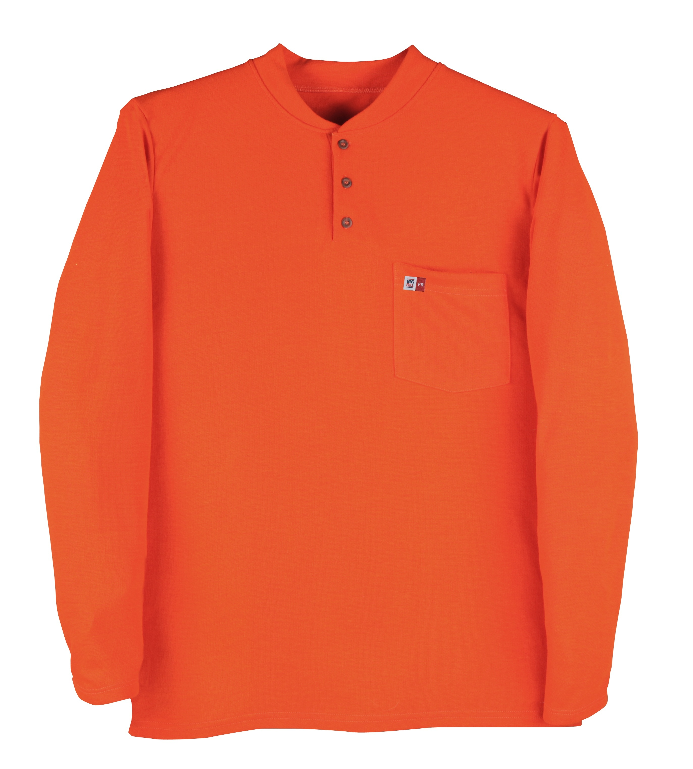 8.8 oz Polartec® Power Dry® Long Sleeve Henley-BIG BILL