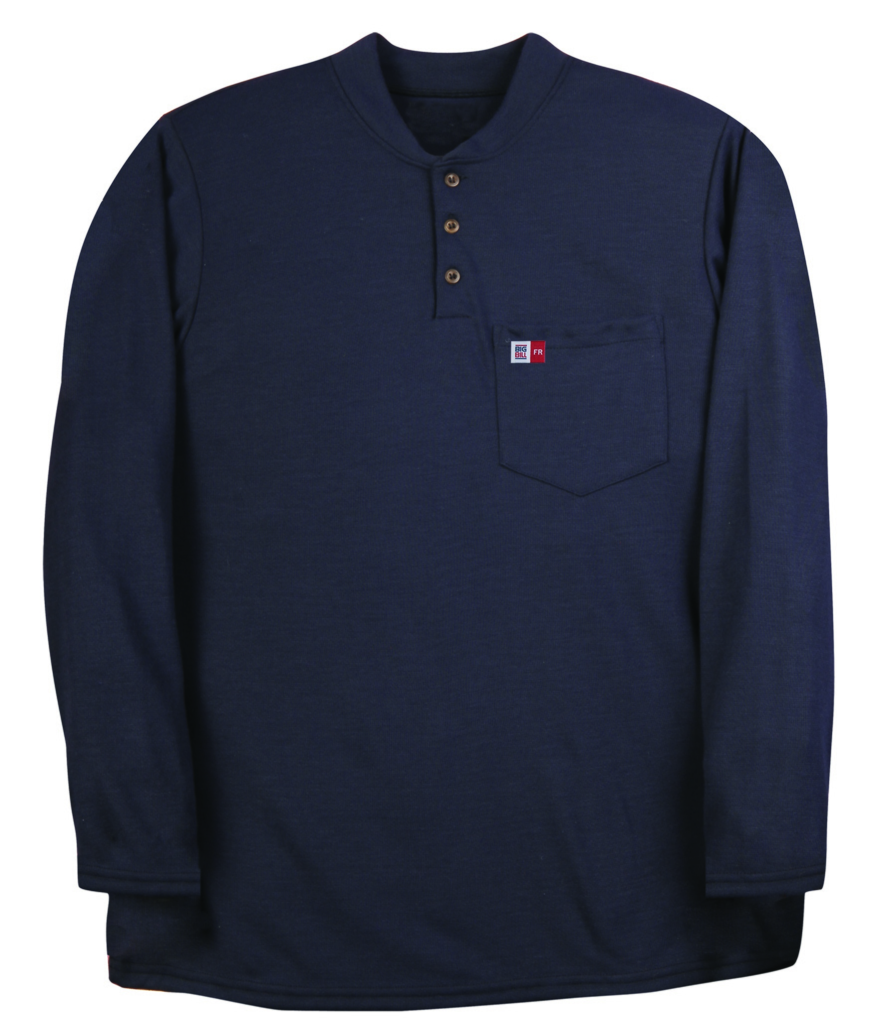 8.8 oz Polartec® Power Dry® Long Sleeve Henley