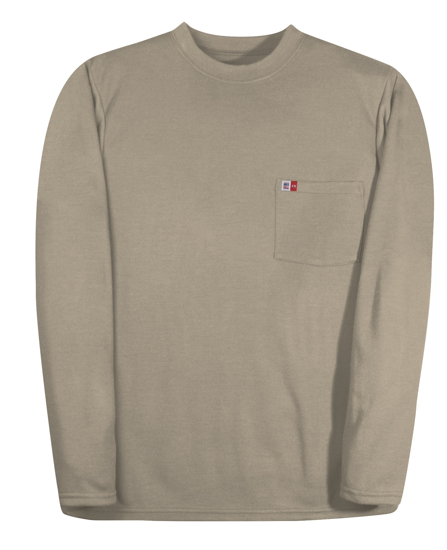 6.5 oz Innovative Textile Reliant® Interlock Long Sleeve T-Shirt-BIG BILL