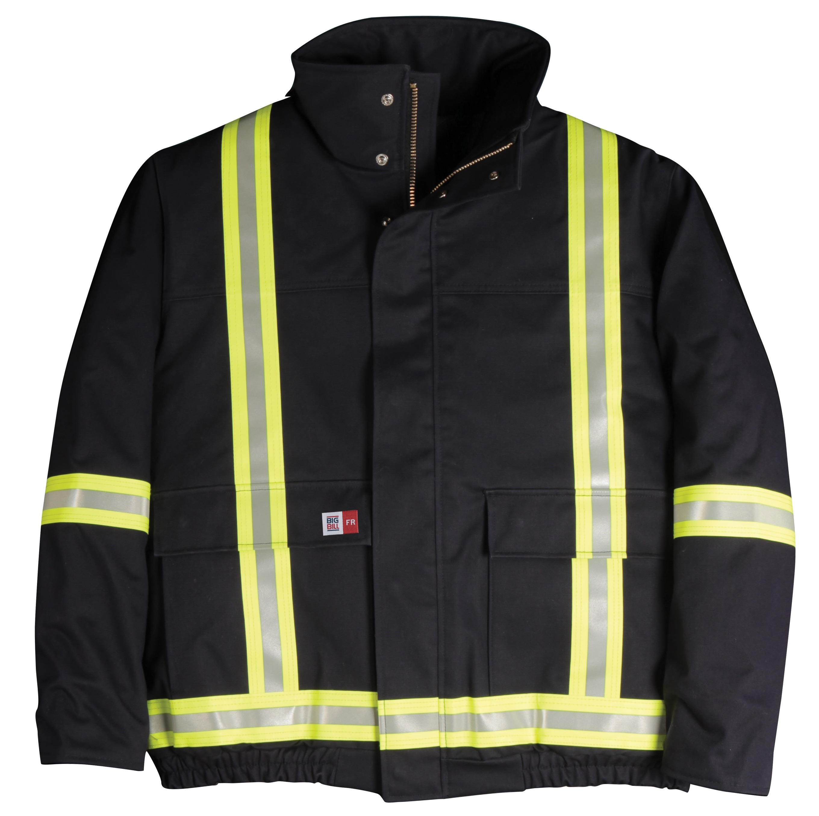 7 oz Ultrasoft® Quilt Lined Jacket with Reflective Material-BIG BILL