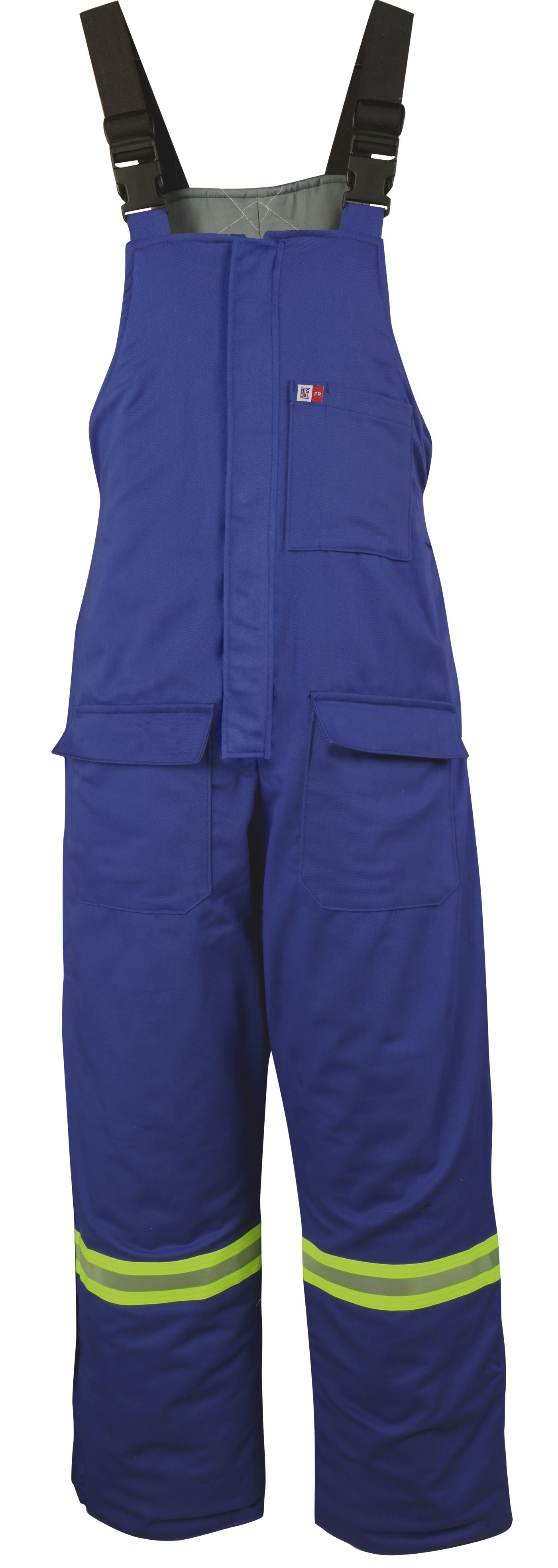 7 oz Ultrasoft® Insulated Bib Overall with Reflective Material-