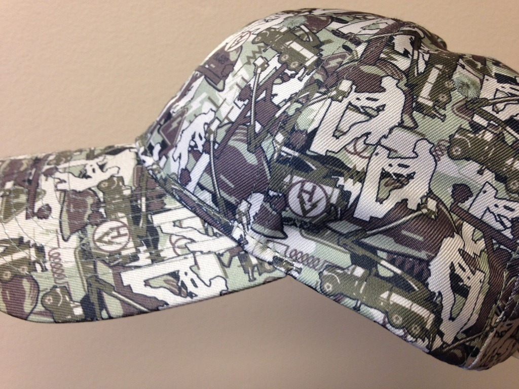 High Voltage Camo Hat-High Voltage Camo