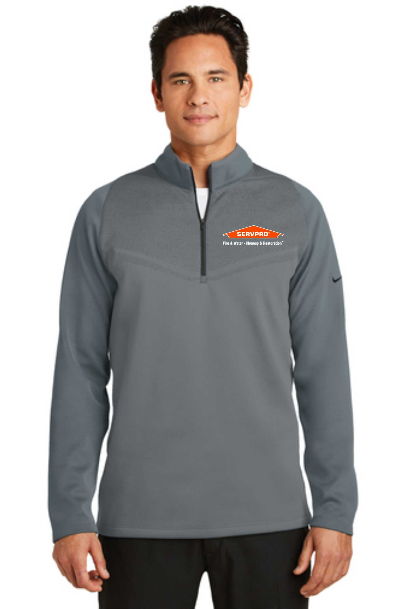 Nike Therma-FIT Hypervis 1/2-Zip Cover-Up-