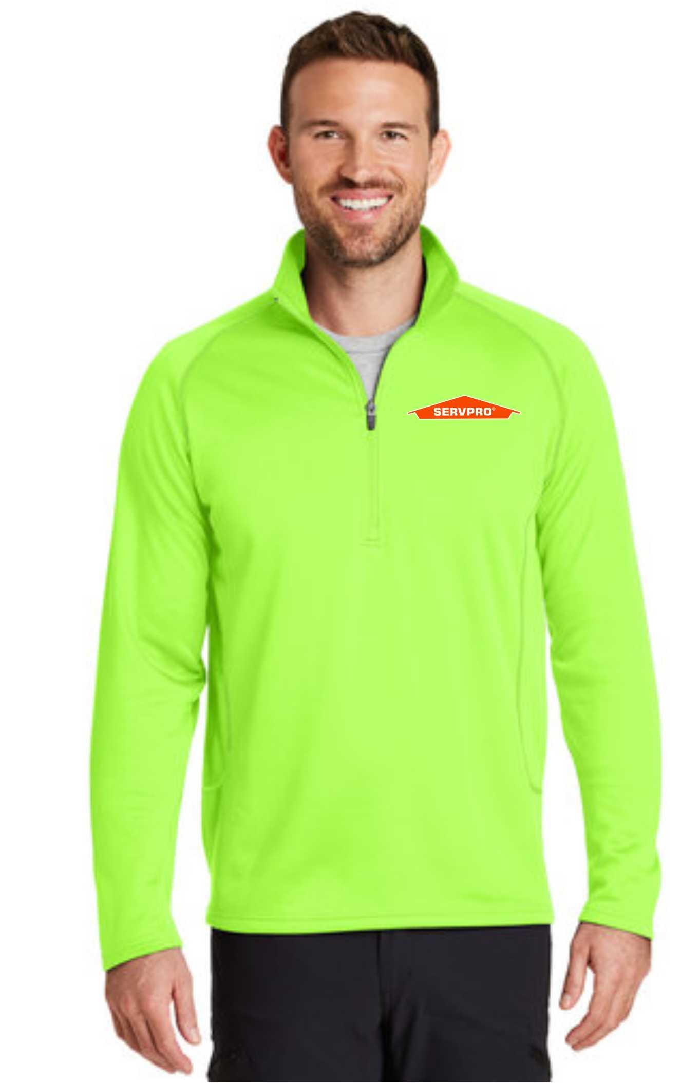 Eddie Bauer® Smooth Fleece Base Layer 1/2-Zip-servproperfectfit
