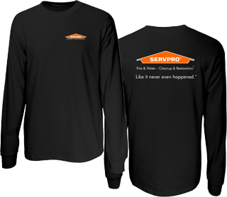 SERVPRO Long Sleeve 50/50 Cotton/Poly T-Shirt.-