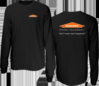 SERVPRO Long Sleeve PosiCharge Competitor Tee.-