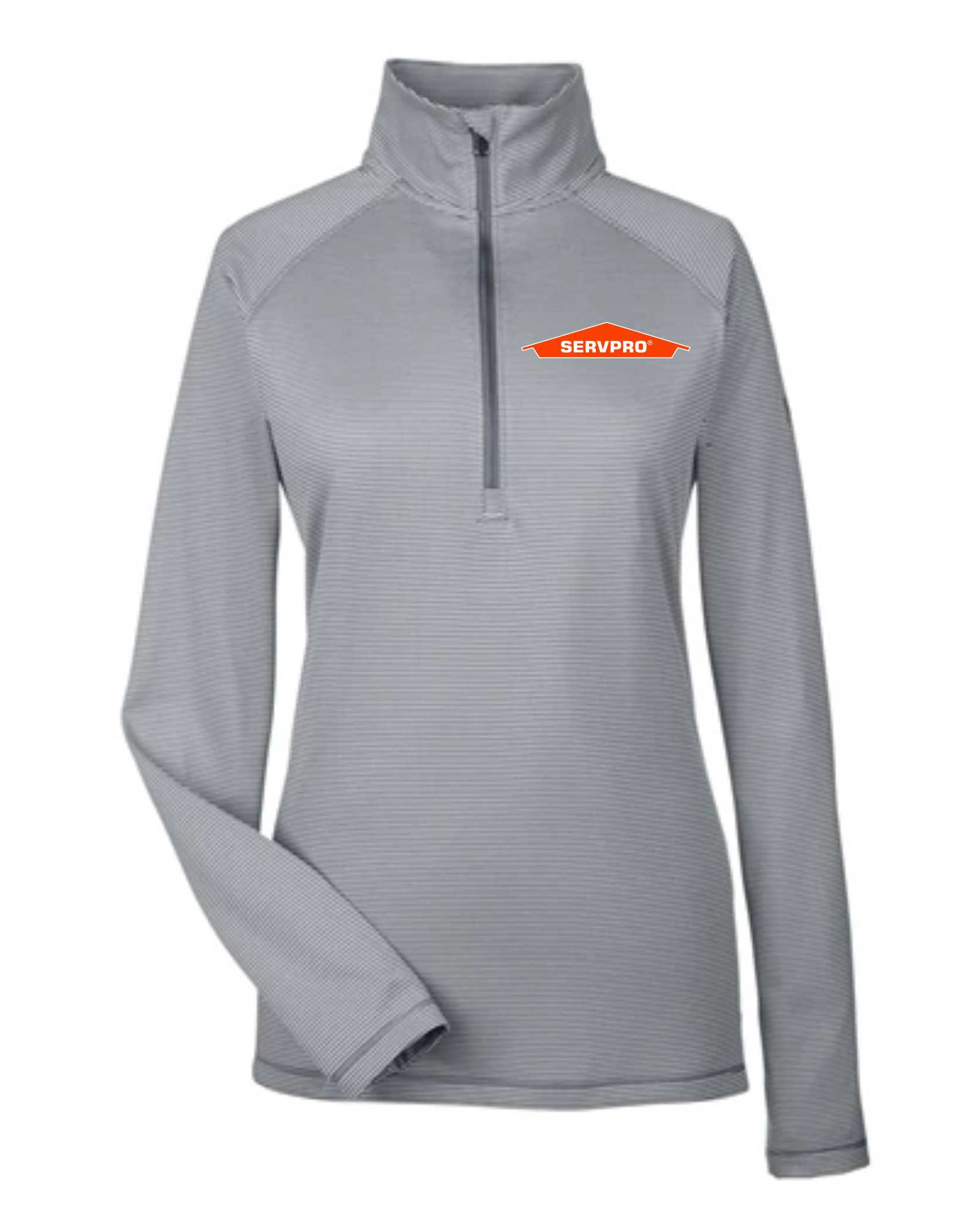 Under Armour Ladies' Tech Stripe Quarter Zip-servproperfectfit