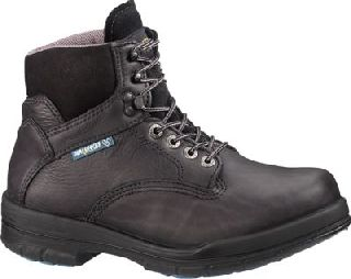 "Wolverine Durashocks® Sr Direct-Attach Steel-Toe EH 6"" Boot Black"