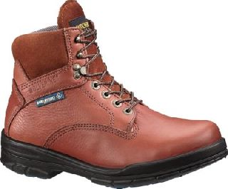 "Wolverine Durashocks® Sr Direct-Attach Steel-Toe EH 6"" Boot Brown-Wolverine"