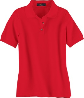 Ladie's Pique Polo-