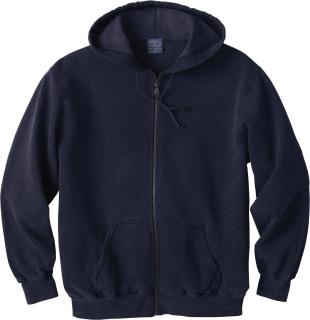 Men's Vintage Hooded Zip Jacket-