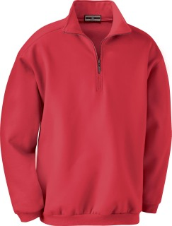 Men's Classic Cotton Blend Fleece Half-Zip-