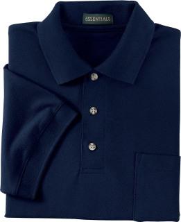 Men's Pique Polo With Pocket-