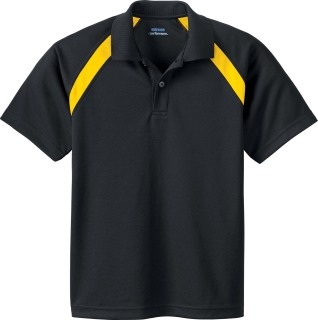 Youth Eperformance  Color-Block Pique Polo-
