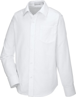 Windsor Youth Long Sleeve Oxford Shirt-