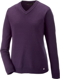 Merton Ladie's Soft Touch V-Neck Sweater-
