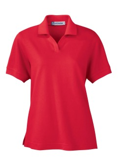 Ladie's 60/40 Cotton Poly Pique Polo-