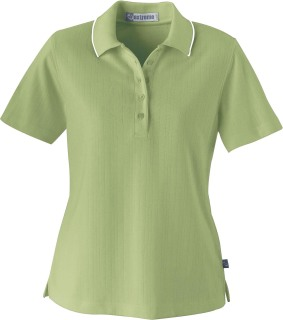 Ladie's Edry Needle Out Interlock Polo-