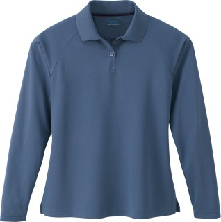 Ladie's Long Sleeve Eperformance Pique Polo-