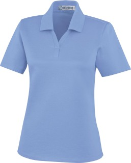 Ladie's Edry Silk Luster Jersey Polo