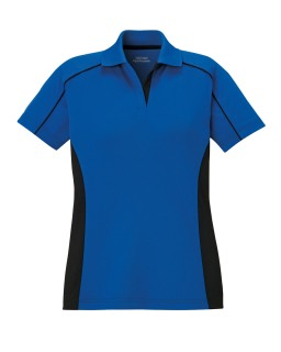 New Fuse Polos Ladie's Snag Protection Plus Color-Block Polos-