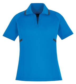 New Propel Ladie's Eperformance™ Interlock Polos With Contrast Tape-