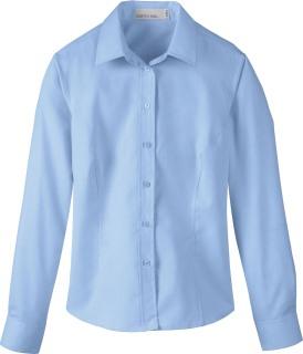 Ladie's Yarn-Dyed Wrinkle Resistant Dobby Shirt-