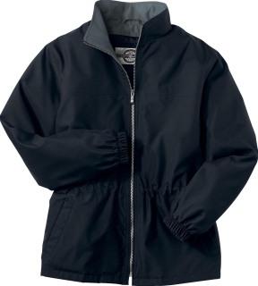 Ladie's M•I•C•R•O Plus 3/4 Length Jacket With Teflon-