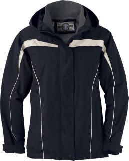 Ladie's 3-In-1 Jacket With Detachable Jacket Liner-