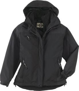 Ladie's 3-In-1 Mid-Length Jacket-