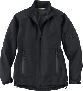 Ladie's Performance Mid-Length Soft Shell Jacket-