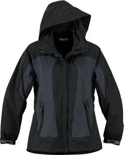 Ladie's Performance 3-In-1 Seam-Sealed Mid-Length Jacket-