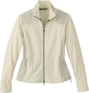 Ladie's Recycled Polyester Fleece Full-Zip Jacket-