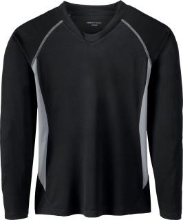 Ladie's Athletic Long Sleeve Sport Top-