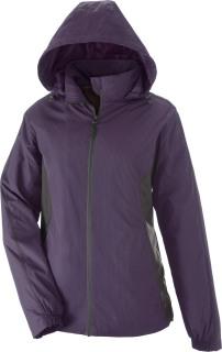 Gridlock Ladie's Tonal Pattern Lightweight Jacket-