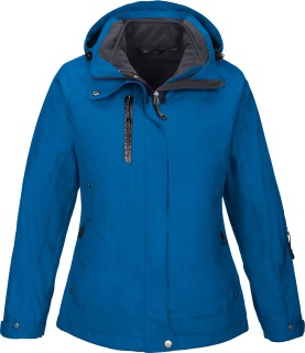 Caprice Ladie's 3-In-1 Jacket With Soft Shell Liner-