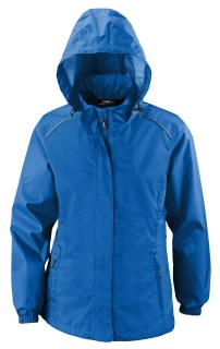 Climate Core365™ Ladie's Seam-Sealed Lightweight Variegated Ripstop Jacket-