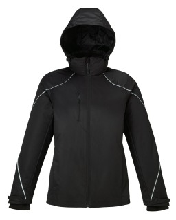 New Angle Ladie's 3-In-1 Jacket With Bonded Fleece Liner-